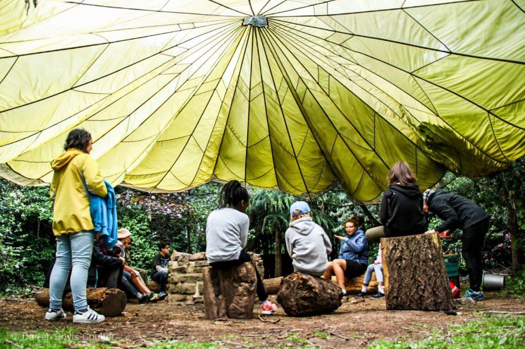 Children attending a Kidz Klub Camp